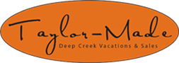 Taylor Made Deep Creek Vacations & Sales Logo